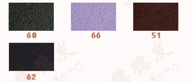 二层牛皮 仿头层牛皮纳帕纹 现货多色 可定制图片十一