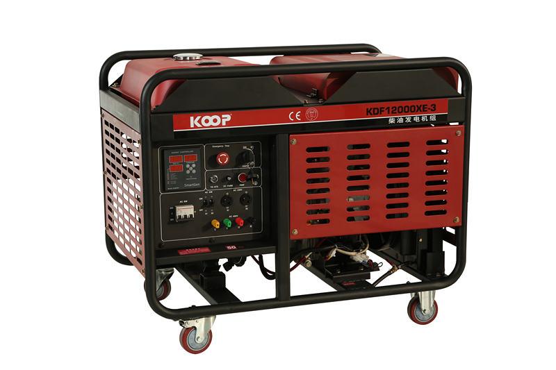 10KW科普KOOP柴油发电机KDF12000XE图片二
