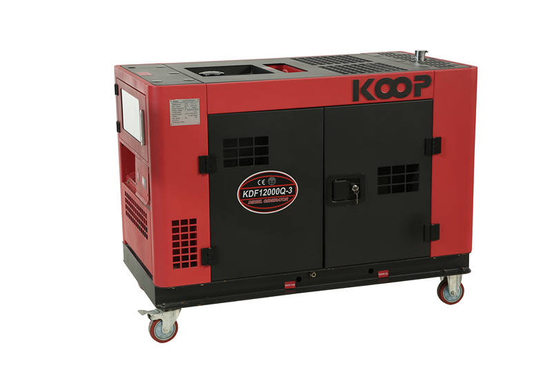 科普KOOP柴油10kw发电机KDF12000Q图片一