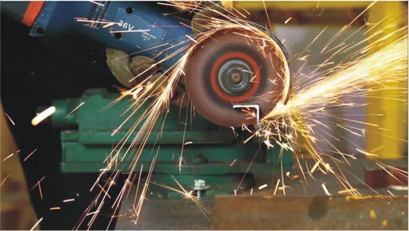 36V充电式角磨机BOSS波士角向磨光机抛光机切割图片四