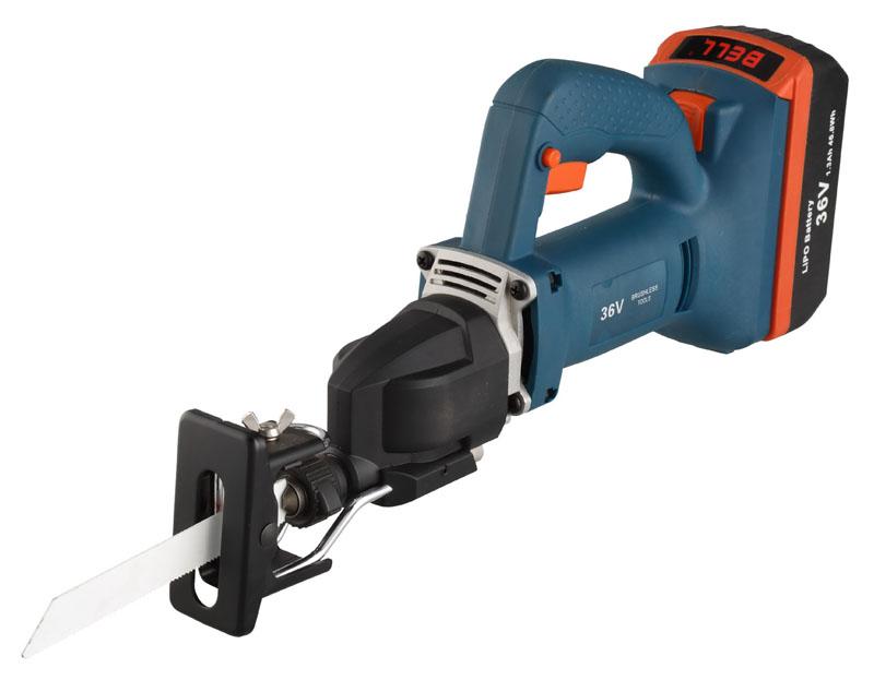 BOSS新品电动工具36V无刷充电式往复锯刀马锯图片二