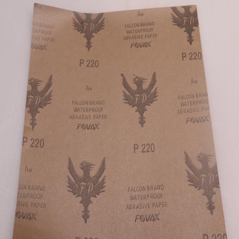 厂家直销 红鹰水砂纸图片二