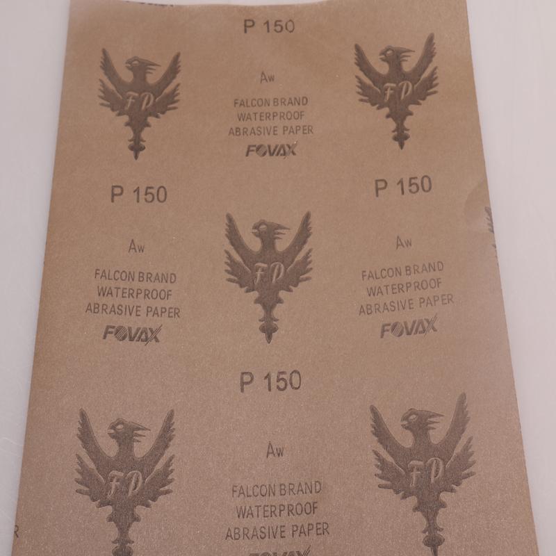 厂家直销 红鹰水砂纸图片三