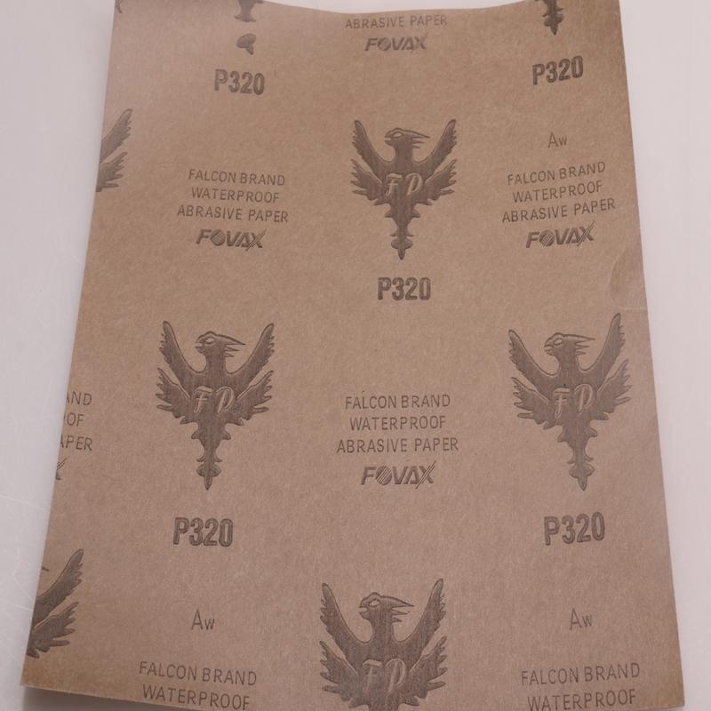 厂家直销 红鹰水砂纸图片四
