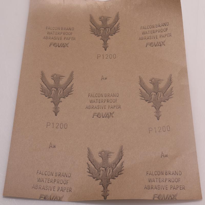 厂家直销 红鹰水砂纸图片五