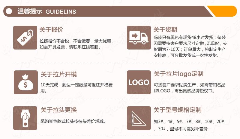 4#塑钢三连环牙银牙开口树脂拉链  SBS品牌拉链图片十二