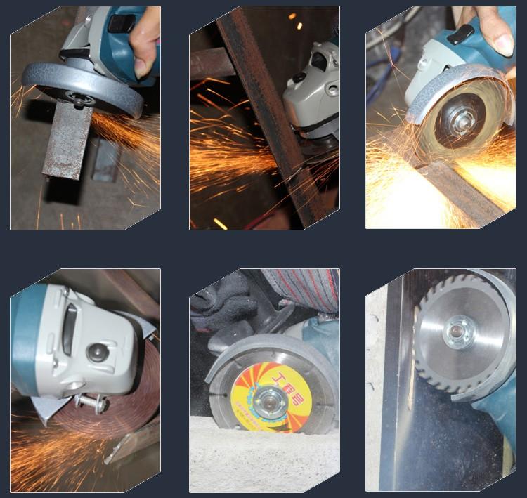 厂家直销佐尔顿角磨机切割机工业级手动磨光机图片五