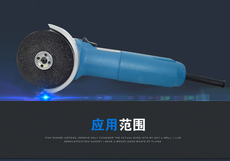 厂家直销佐尔顿角磨机切割机工业级手动磨光机图片三