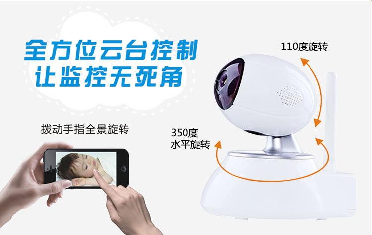 1080P网络摄像机百万高清无线摄像头手机远程监控图片二十四
