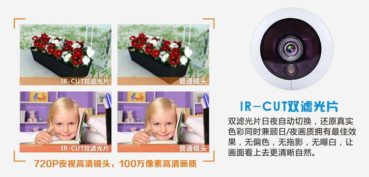 1080P网络摄像机百万高清无线摄像头手机远程监控图片二十六