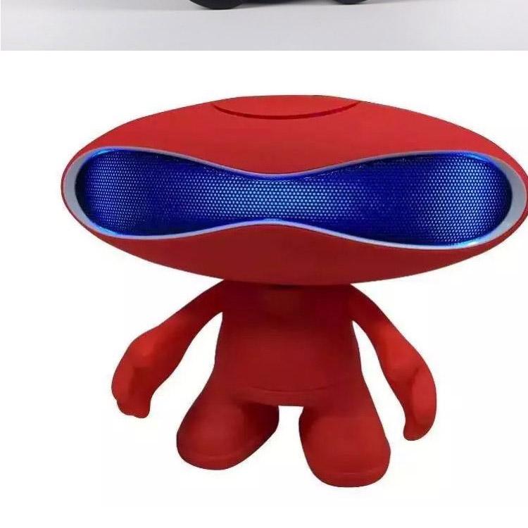 外星人橄榄球小音响手机无线蓝牙音箱电脑桌公仔蓝牙音图片五