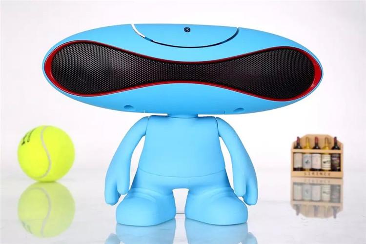 外星人橄榄球小音响手机无线蓝牙音箱电脑桌公仔蓝牙音图片六