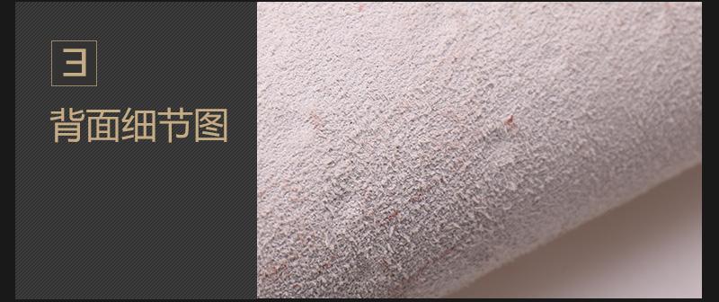 牛二层鸵鸟压花皮 多色现货可定制图片五