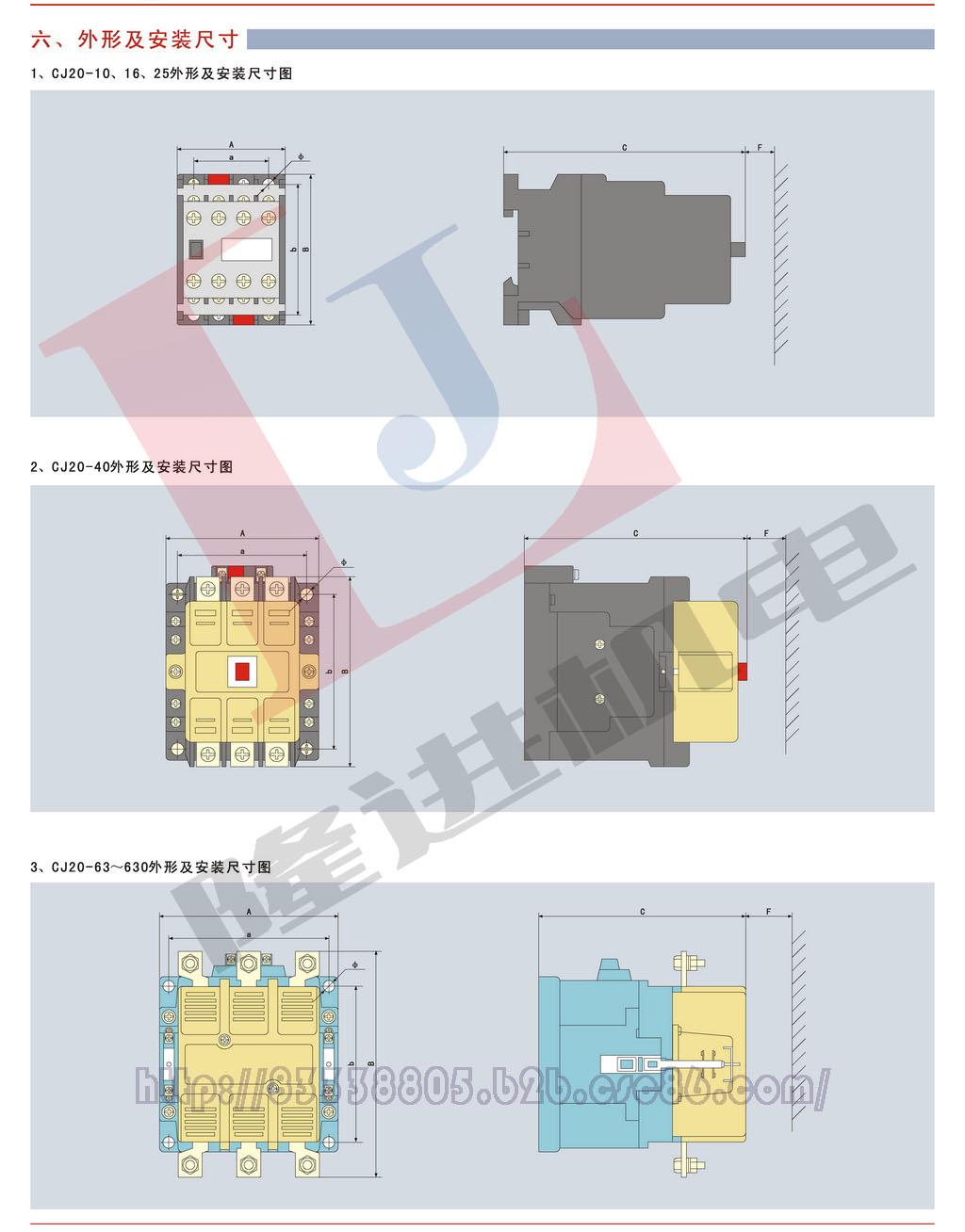 环宇CJ20系列交流接触器图片三