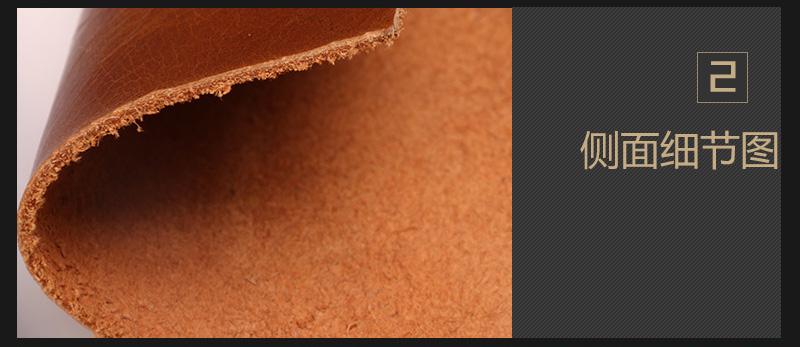 头层水牛油腊皮 现货多色 可订做图片四