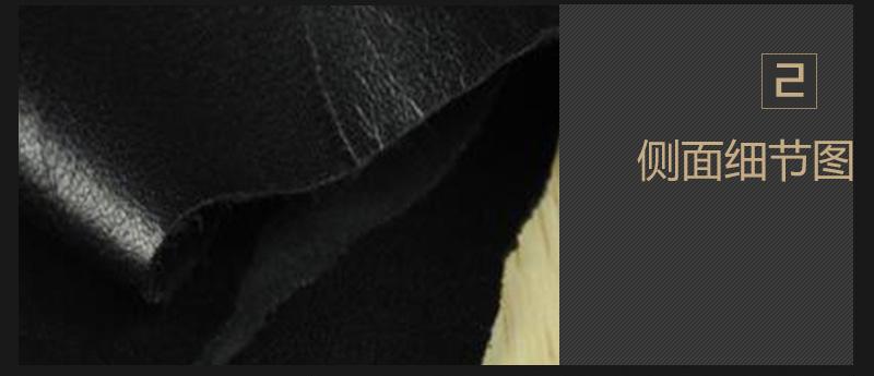 绵羊皮 黑色 白色现货 可订做图片四