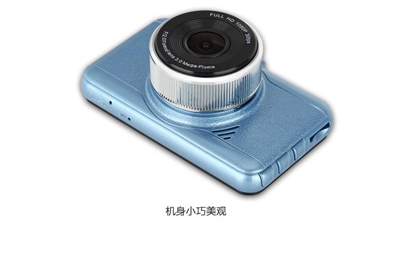 安培A306迷你超高清夜视大广角1080P行车记录图片二十三