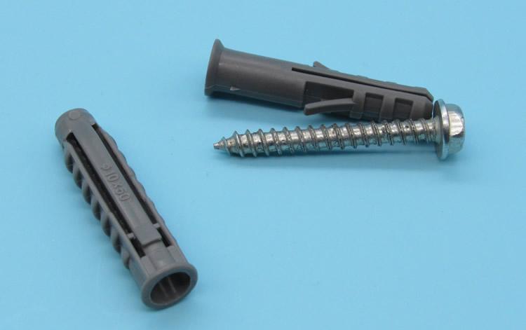 电视挂架膨胀螺丝10MM 尼龙胀管 塑料膨胀管钉图片六