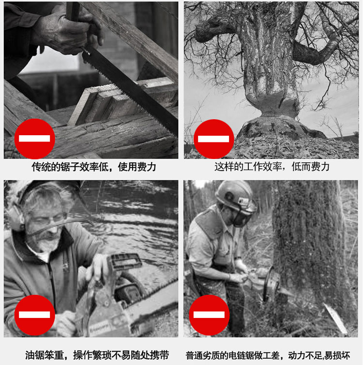 厂家直销佐尔顿电锯电链锯大功率伐木锯批发图片三