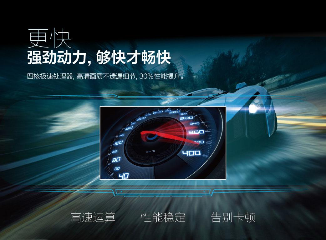 安培魔镜899智能云镜声控导航电子狗记录仪一体机图片三