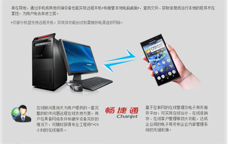 联想台式机电脑 扬天T4900C i5-4590图片十二