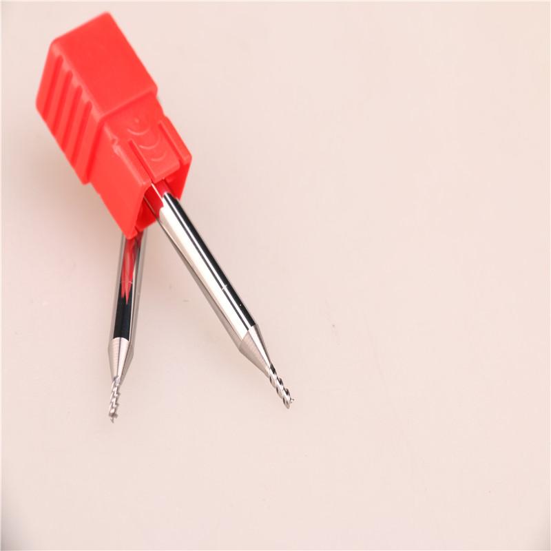台湾正品YHM铝用钨钢刀铣刀 2.0*3F*50L图片四