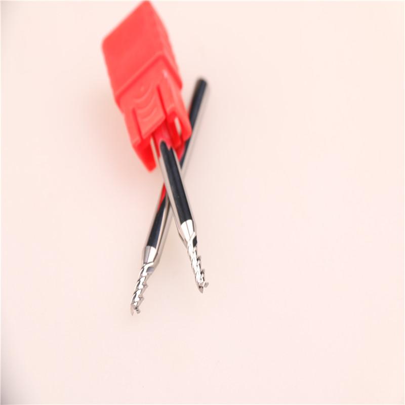 台湾正品YHM铝用钨钢刀铣刀 2.5*3F*50L图片四