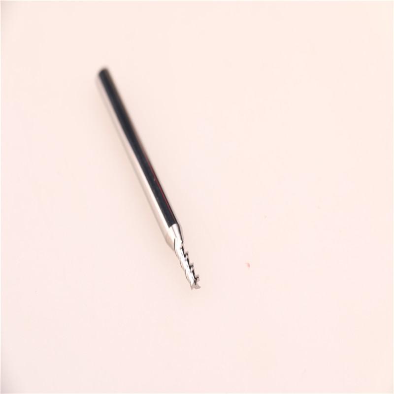 台湾正品YHM铝用钨钢刀铣刀 2.5*3F*50L图片三