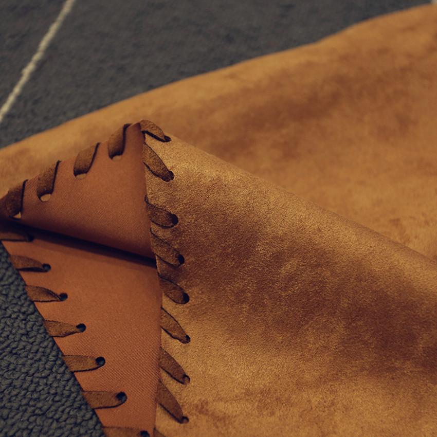 【现货特卖】麂皮绒服装面料 加密麂皮绒图片一