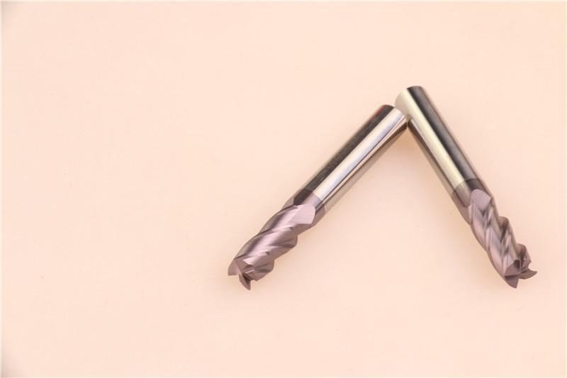 YHM 55度钨钢铣刀8.0*4F*60L图片三