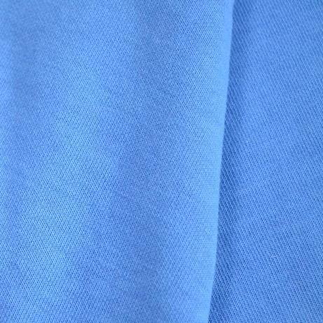 时尚运动面料270-280克棉健康布、中蓝图片三