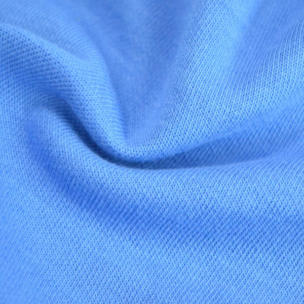 时尚运动面料270-280克棉健康布、中蓝图片四