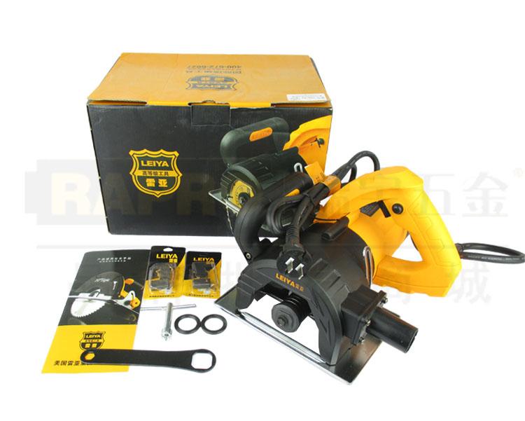 雷亚电动工具路面开槽机 5寸石材切割机155-02图片一