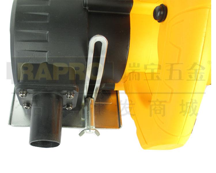 雷亚电动工具路面开槽机 5寸石材切割机155-02图片九