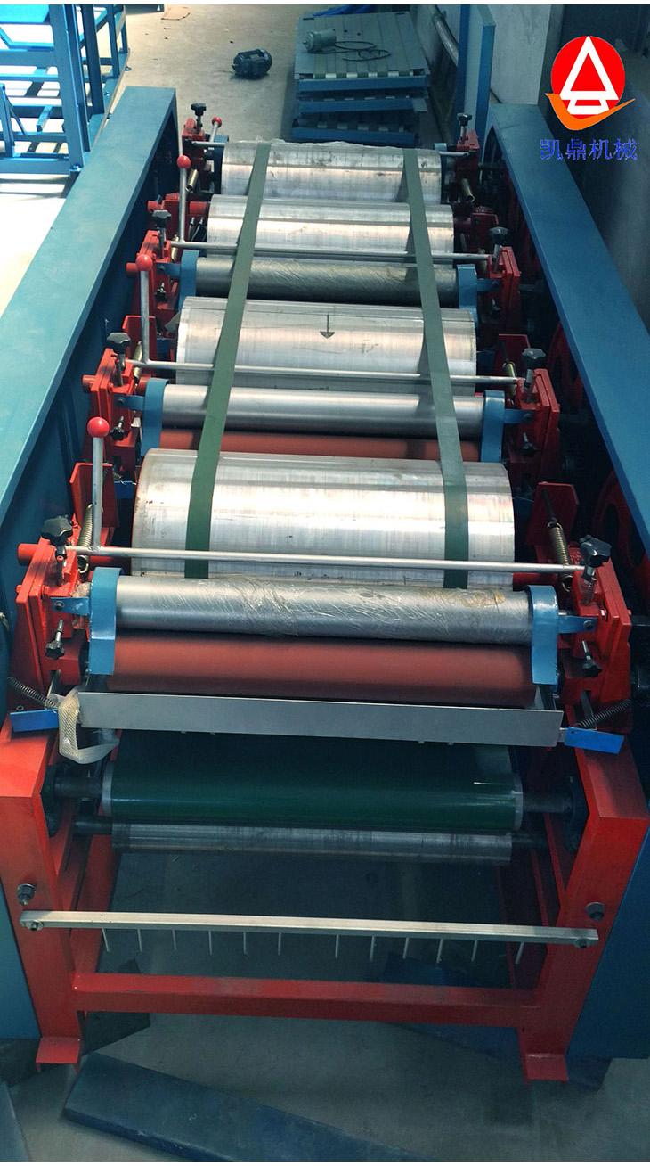 平台印刷机运动简图