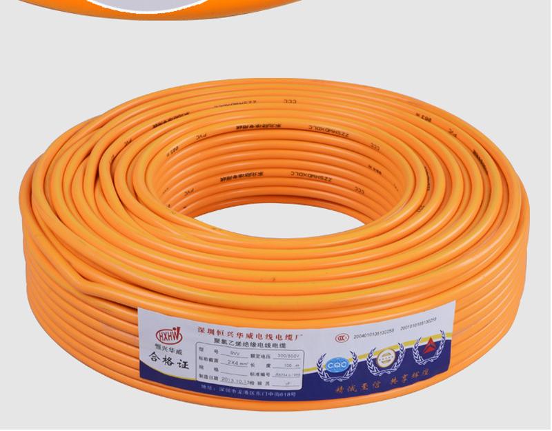 铜包铝RVV 2*2.5平方防冻线 2芯工程专用图片十