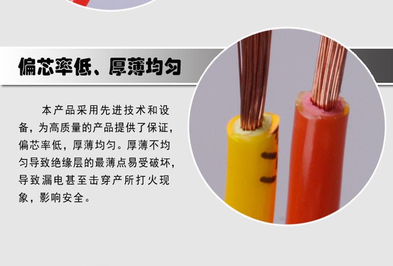 内彩外明RVS 铜包铝2X48丝胶质线 双绞线图片六