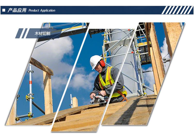 电动工具充电电圆锯木工锯工具GKS 10.8V-L图片七