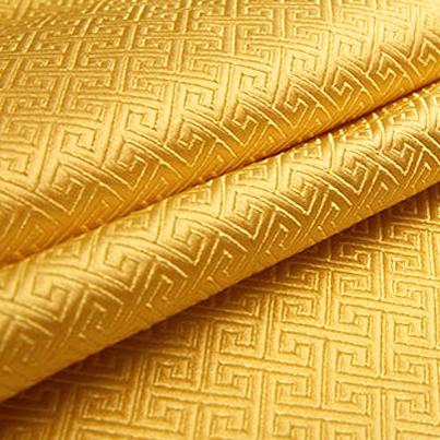 泥黄唐装服饰 织锦缎图片一