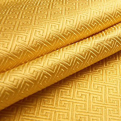 泥黄唐装服饰 织锦缎图片四
