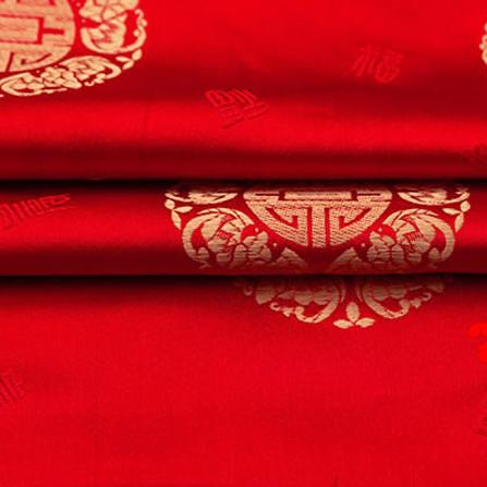 婚庆古装 寿星古装织锦缎图片一
