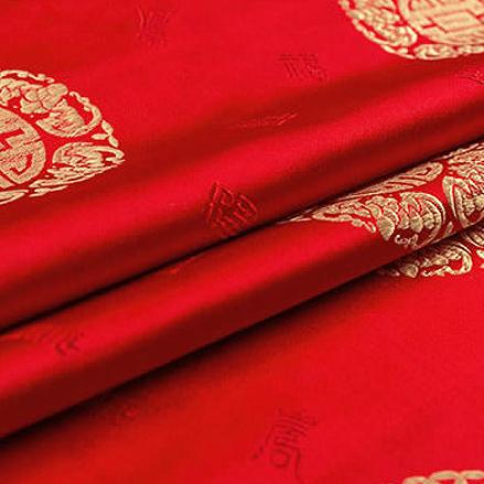 婚庆古装 寿星古装织锦缎图片二