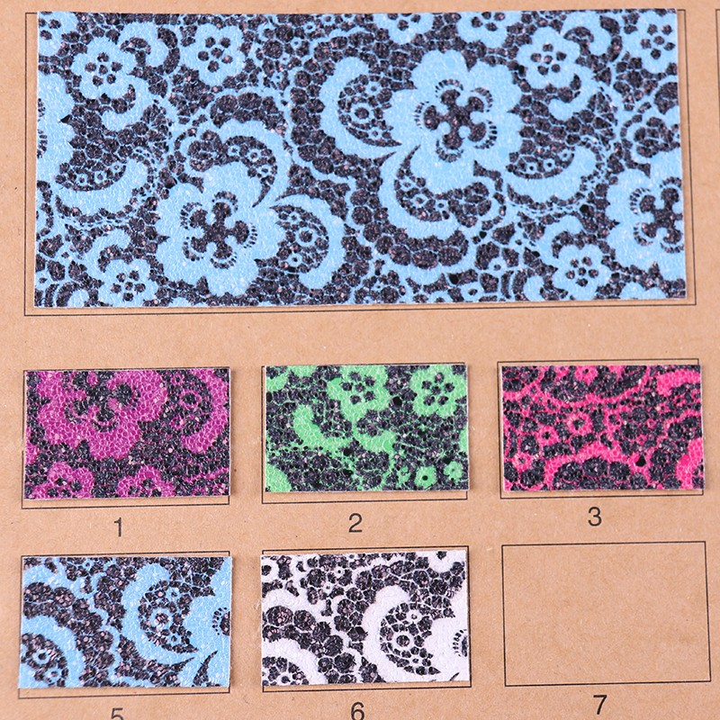 印花PVC花纹几何纹合成革图片二