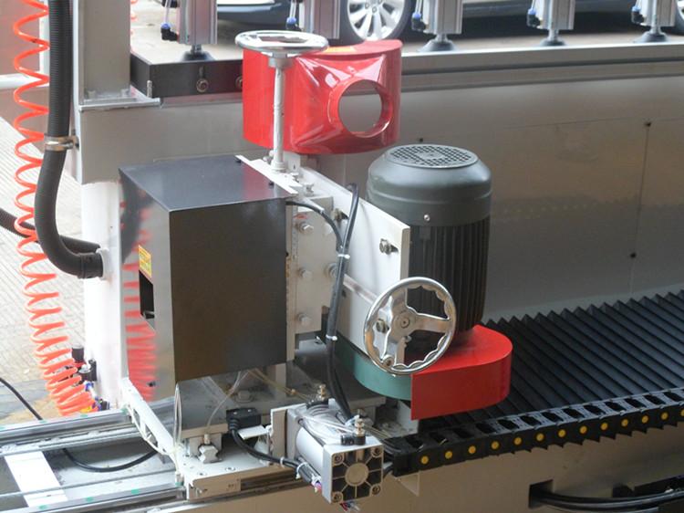 全自动铣边机 多功能拼板开槽机 直线修边机图片十三