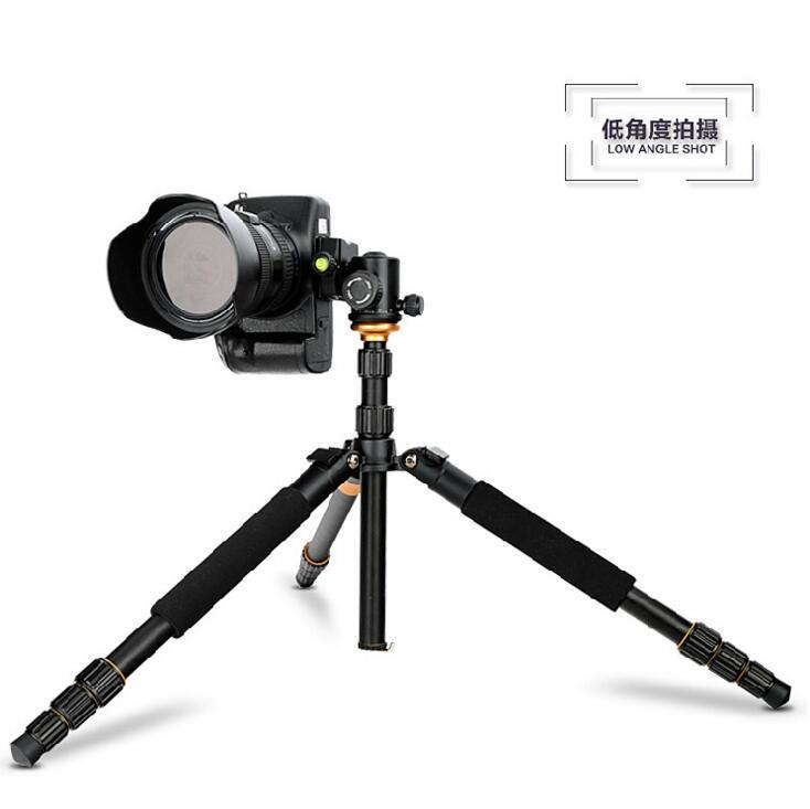 单反相机三脚架 便携摄影自拍照相迷你多功能三角架图片四
