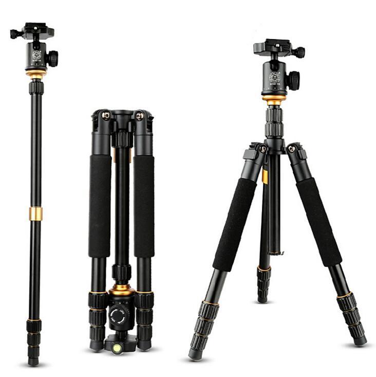 单反相机三脚架 便携摄影自拍照相迷你多功能三角架图片五