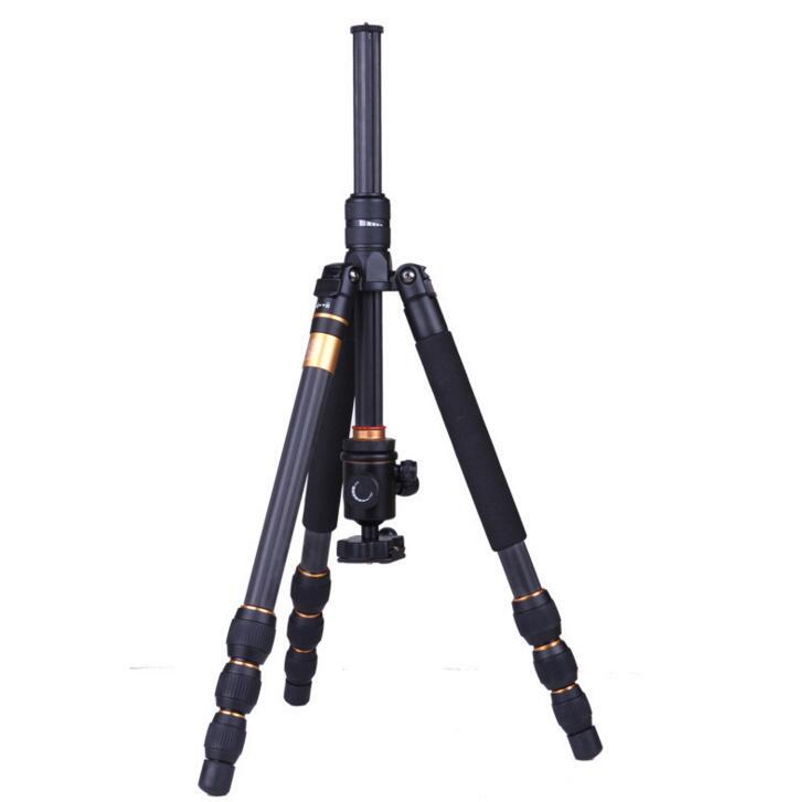 单反相机三角架 便携摄影多功能碳纤维三脚架图片二