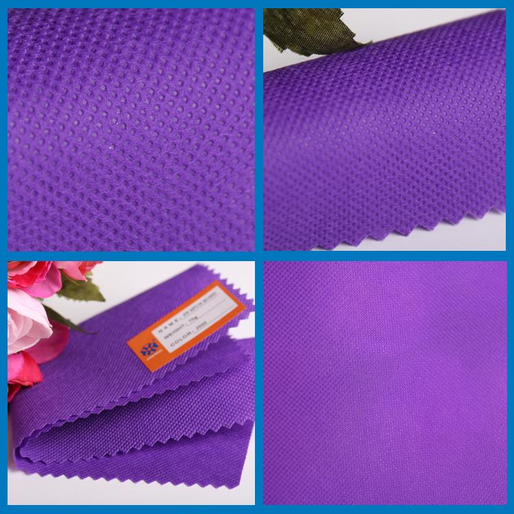深紫色PP无纺布 深色无纺布 锦盛无纺布图片四