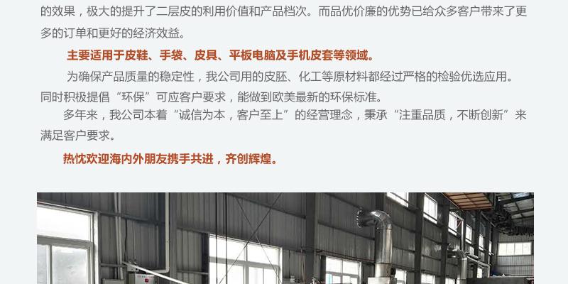 深圳厂家直销 全粒面 二层牛皮图片二十三