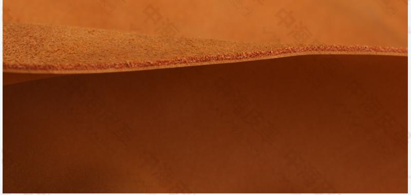 二层复古磨砂皮耐拉力二层牛皮|磨砂二层牛皮革图片十七